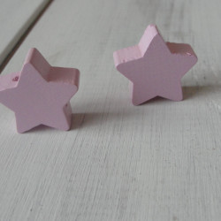 звезда нежно-розовая