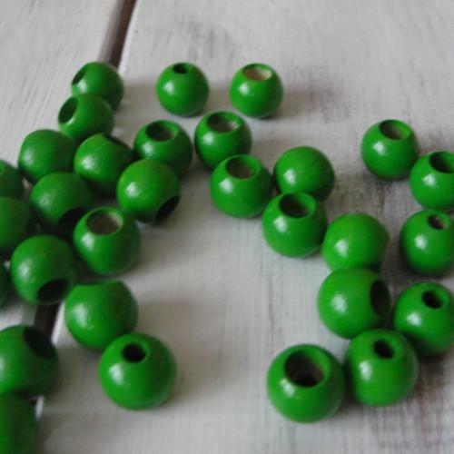 безопасные бусины зеленые